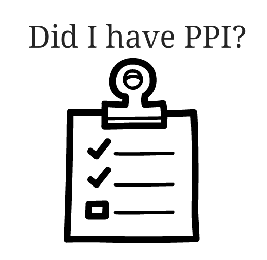 did i have ppi?